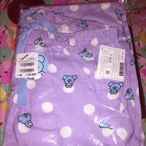 Official Bt21 Pajama pants